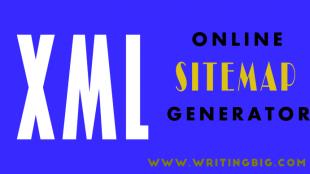 XML Online Sitemap Generator
