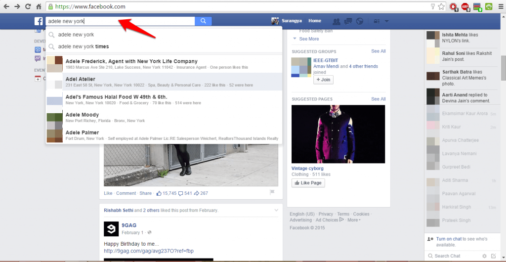 How to use Facebook advanced search-2