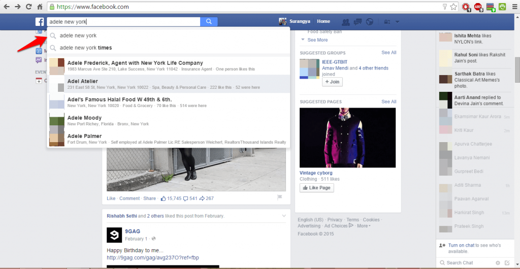 How to use Facebook advanced search-3