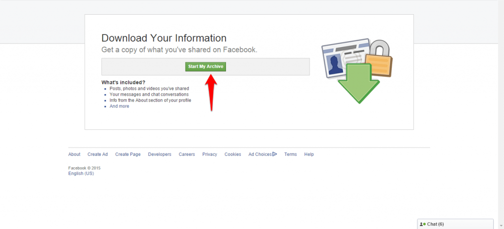 How to backup Facebook data-3