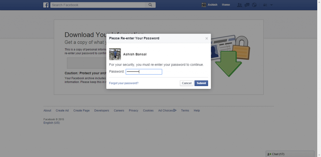 How to backup Facebook data-6