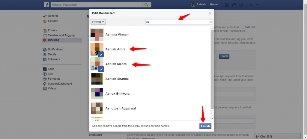 How to block and unblock people on Facebook - 4