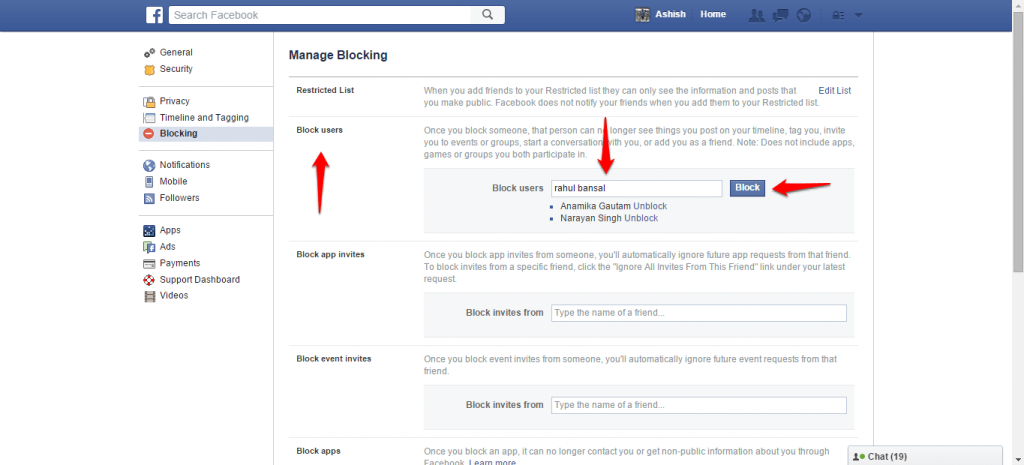 How to block and unblock people on Facebook - 5