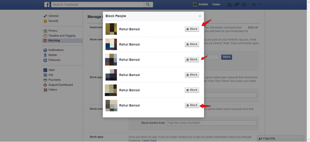 How to block and unblock people on Facebook - 6