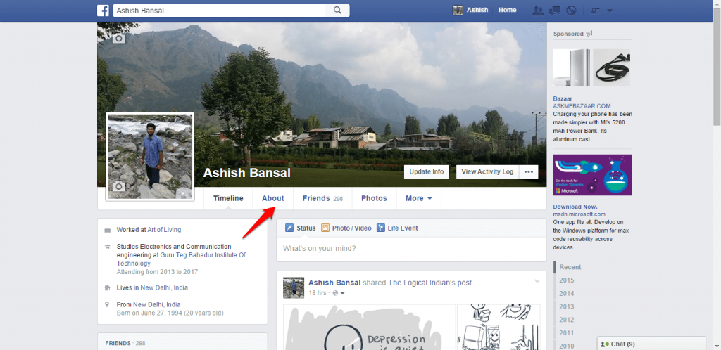 How to change name and other particulars in Facebook - image 16