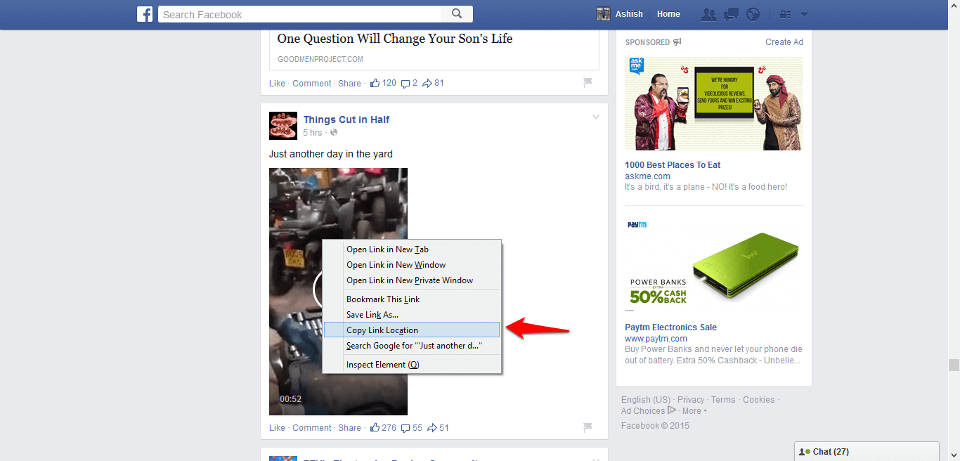 How to download Facebook videos? ~