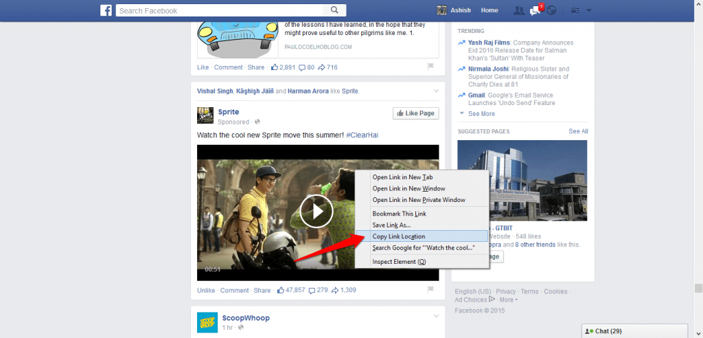 How to download Facebook videos 2