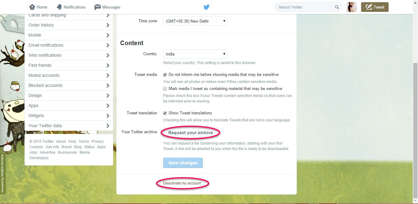How to Delete your Twitter account-4