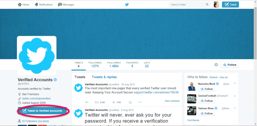 How to get your Twitter account Verified-3