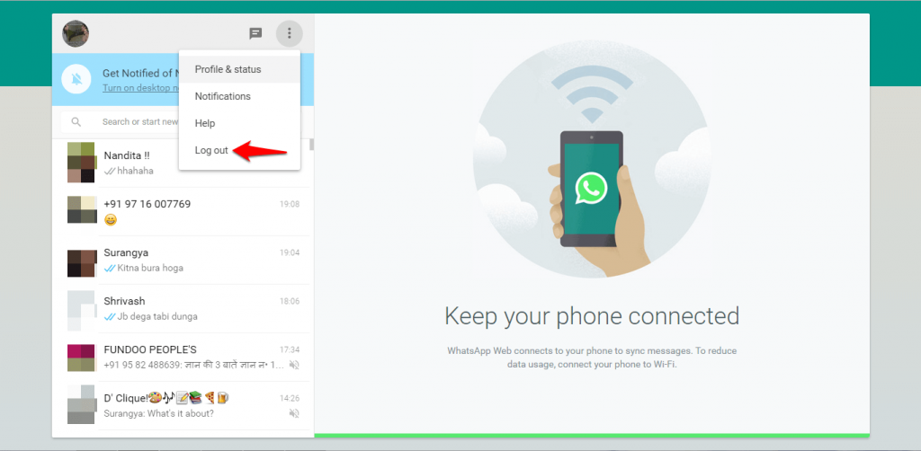 How to use WhatsApp on desktop-14