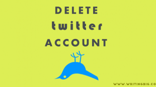 how to delete twitter account - featured image