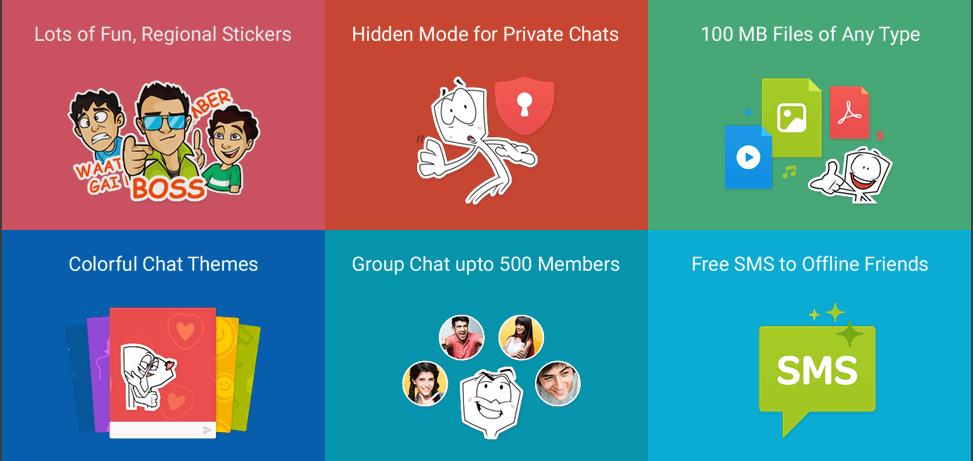 WhatsApp alternatives_hike