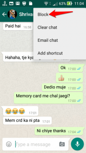 Block someone on Whatsapp-2