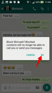 Block someone on Whatsapp-3
