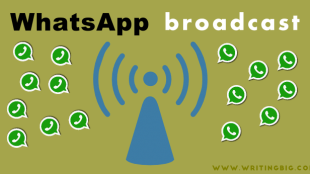 Whatsapp broadcast feature - Featured image