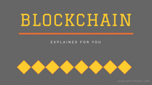 Blockchain explained - technology behind it for a common man