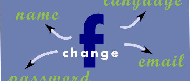 How to change name and other particulars in Facebook - Featured Image