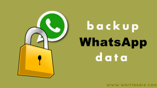 How to backup WhatsApp data - Featured Image