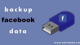 How to back up Facebook data - Featured Image
